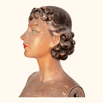 Life Size Female Mannequin by Siegel of Paris- Without Arms