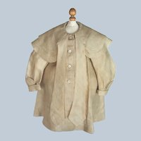 Fabulous 19th Century Antique Coat for Antique Bear German Doll or French Bebe Doll