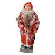 Fabulous Vintage German Papier Mache Father Christmas Superb Condition