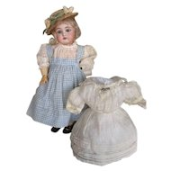 Outstanding and Charming Antique Kestner 152 Doll with Original Clothes Free Shipping