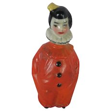 German Porcelain Figural Perfume Bottle from the 1920s