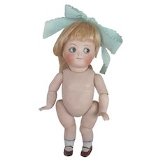 Very Rare All Bisque 112 with Googly Eyes, Swivel Neck, Jointed Arms and Legs Adorable