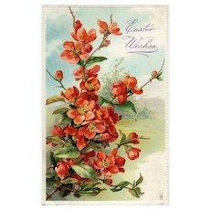 Catherine Klein Floral Easter Postcard Raphael Tuck Series NO 300 Vintage Postcard