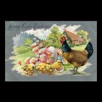 1910 Raphael Tuck Easter Postcard Series 701 vintage Postcard