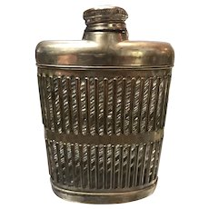 1927 Prohibition era Flask with Provenance to Oliver Axman From Oliver Moles