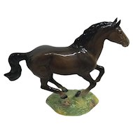 Collectible running Beswick brown horse porcelain figurine 1374