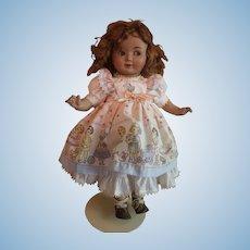 19 inch German celluloid doll