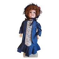"""Beautiful 22"""" Schoenau & Hoffmeister Vintage Doll"""