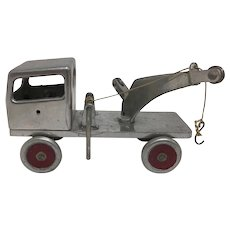 Antique Mack Tow Wrecker Truck Dealer Advertising Promotion Aluminum Body