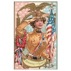 GAR Grand Army of the Republic Daughter of Regiment Patriotic Decoration Day Series 2