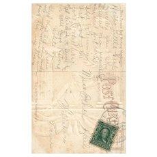 Nash 1809 Abraham Lincoln The Martyred President Patriotic Postcard