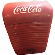 Vintage Mid Century Red Coca-Cola Motiograph Drive In Theatre Automobile Speaker
