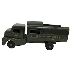 Vintage Structo Telephone Company Utility Service Truck Toy