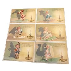 Complete Series Swift Soap Shadow vintage Advertising Postcards