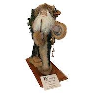 "Father Christmas Santa signed ""Weihnachtenman -the Christmas Man Lynn Haney 1992"" with original box."