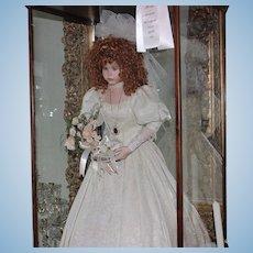 """Bride Porcelain Doll """"Rosealee"""" Vintage"""