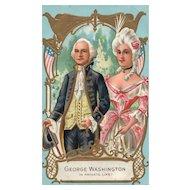 Washington Birthday Series No 1 by Nash George & Martha Washington Patriotic