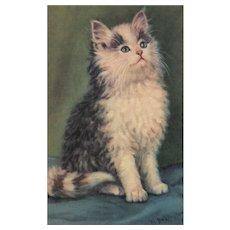 ALMA #324 Vintage Artist Signed M. Babington postcard