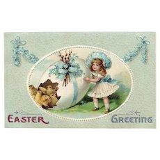 1911 Ellen Clapsaddle Easter Series 2020 vintage postcard