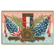 Decoration Day Series No 2 Sons of Veterans Vintage Postcard