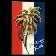 Signed Ellen Clapsaddle  Vintage Patriotic Fourth of July Postcard The Glorious Fourth Series 2936