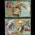 Set of 2 George Washington Birthday Nash Series No 2 vintage Patriotic postcards