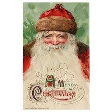 John Winsch 1912 Santa Claus Christmas Vintage postcard