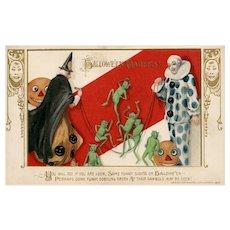 John Winsch Samuel Schmucker  vintage Halloween postcard Goblins
