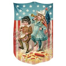Raphael Tuck Independence Day Series 109 Fourth of July Flag Patriotic Postcard