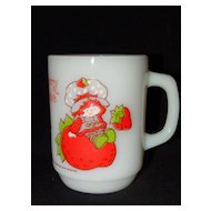 Strawberry Shortcake Anchor Hocking Mug