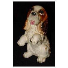 Vintage Lefton Spaniel Figurine