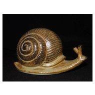 Vintage Snail Figurine - Japan