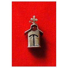 Vintage Sterling Silver Stanhope Church Charm