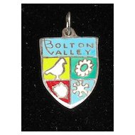 Vintage Bolton Valley Vermont Sterling Silver Charm