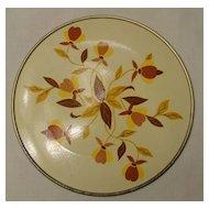 Hall Autumn Leaf Hot Plate for Jewel Tea