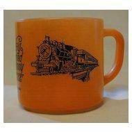 Valley Railroad Company Federal Glass Coffee Mug