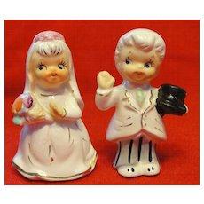 Bride and Groom Wedding Candle Climbers - Japan