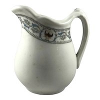 New York Central Lines Railroad Dewitt Clinton Pattern China Creamer
