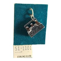 Sterling Silver and Enamel 3D Six Pack of Coke Charm