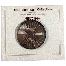Alchemists Collection Hummingbird Brooch for Arizona Highways Magazine