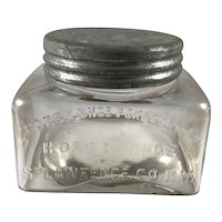 Horse Shoe Forestry Company Maple Valley Syrup Jar