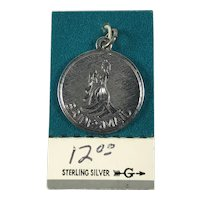 New Old Stock Sterling Silver Bridesmaid Wedding Charm