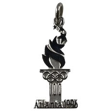 Sterling Silver 1996 Atlanta Olympics Charm