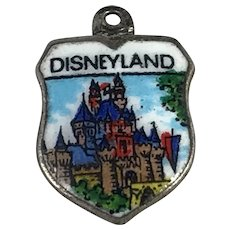 Disneyland Enamel Travel Shield Charm