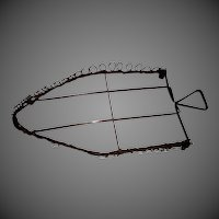 Curly Wire Iron Trivet