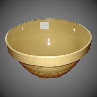 Vintage Yelloware Mixing Bowl