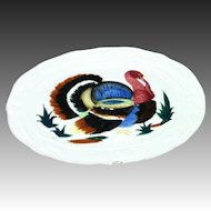 Vintage 1950's Made in Japan Turkey Platter