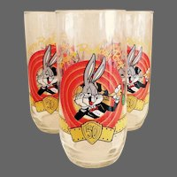Happy 50th Birthday  Bugs Glass