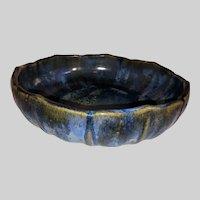 Fulper Pottery Console Bowl-Crystalline Glaze