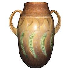 Roseville Pottery Falline Handled Vase 643-6